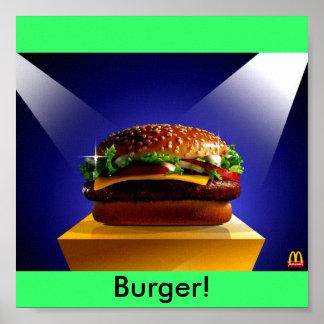 wpview_get 333, Burger! Poster