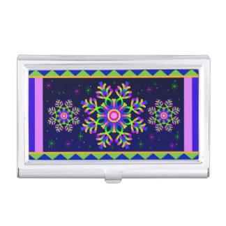 WQ Kaleidoscope Business Card Holder Posh Series