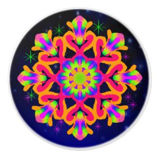 WQ Kaleidoscope Ceramic Knob for Orange Lovers # 2