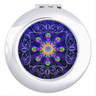 WQ Kaleidoscope Compact Mirror Burst Series No.1