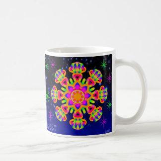 WQ Kaleidoscope Cup Mug Orange Lovers