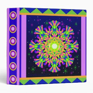 WQ Kaleidoscope Posh Series Binder