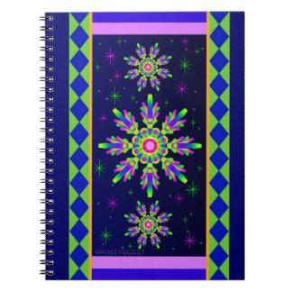 WQ Kaleidoscope Posh Series Spiral Notebook No 2