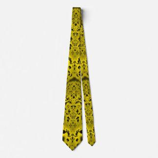 Wraithe Gold Demon Lord Silk Power Tie