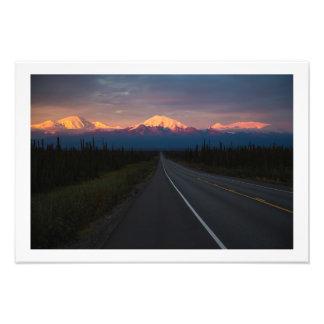 Wrangell Mountains Alaska Photo Print