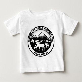 Wrangell St. Elias Nat Park Alaska moose circle Baby T-Shirt
