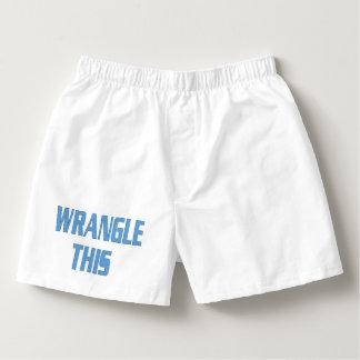 Wrangle This Men's Boxers