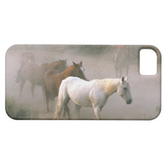 Wrangler with horses iPhone 5 case