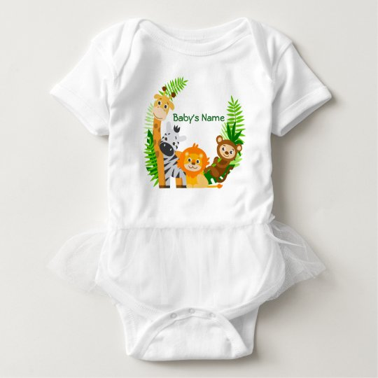 Wrap A Stealing Baby Girl Animals Baby Bodysuit