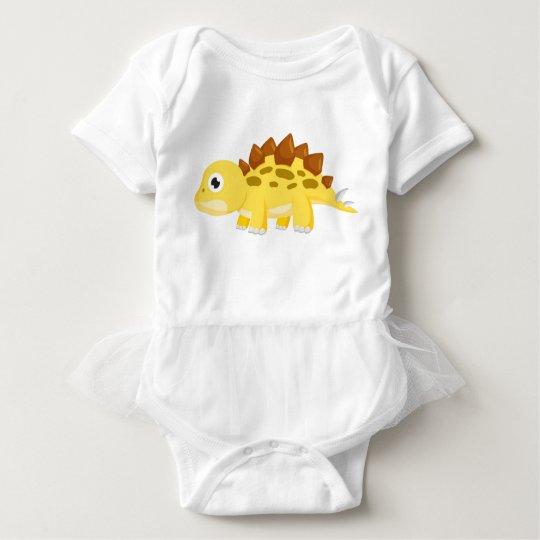 Wrap A Stealing Baby Girl Dinosaur Baby Bodysuit
