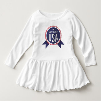 Wrap A Stealing Baby Girl the USA Dress