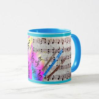 Wrap Around Music & Recorders Mug