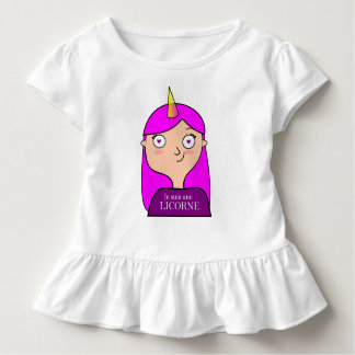 Wrap at wheels I am an unicorn Toddler T-shirt