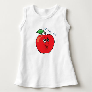 "wrap baby apple ""crunch me "" dress"