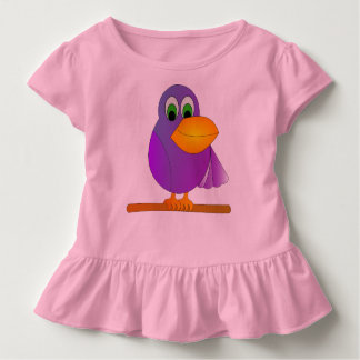 wrap child parrot toddler t-shirt