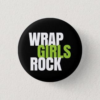 Wrap Girls Rock! - It Works! Global 1 Inch Round Button