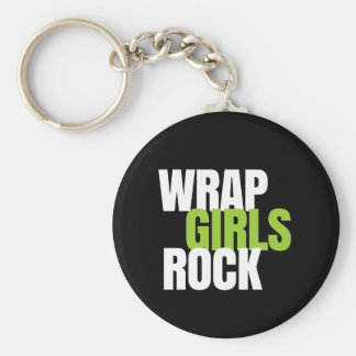 Wrap Girls Rock - It Works! Global Keychain