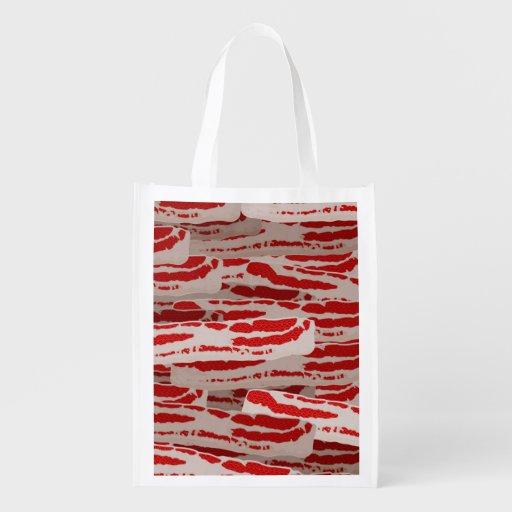 Wrap It In Bacon Grocery Bag
