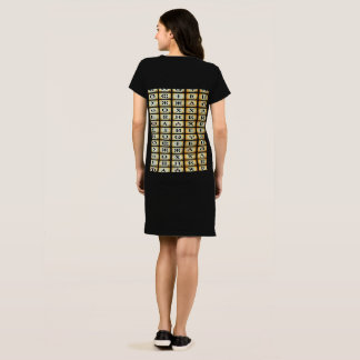Wrap Kabylian tee-shirt tifinagh Dress