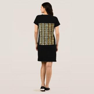 Wrap Kabylian tee-shirt tifinagh Dress