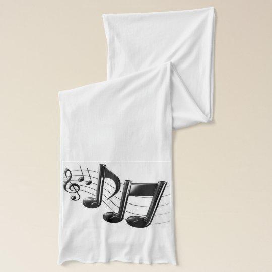 Wrap Music Scarf Wrap