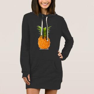 Wrap Sweatshirt pineapple