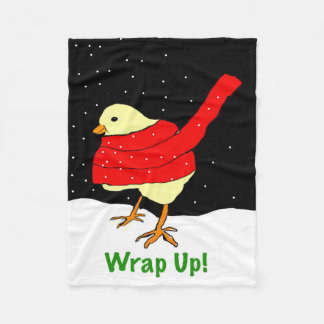 Wrap up! Chick blanket