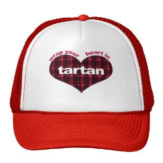 Wrap Your heart in Tartan Trucker Hat