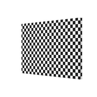 Wrapped Canvas Black & White
