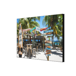 Wrapped Canvas (Gloss) Beach.