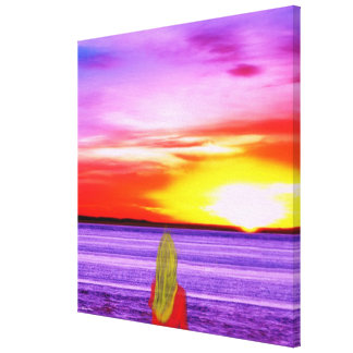 Wrapped Canvas- Right Here Waiting For You Canvas Print