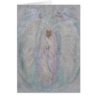 Wrapped in Angel Wings  Card