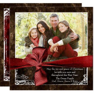 Wrapped in Love Photo Christmas Cards