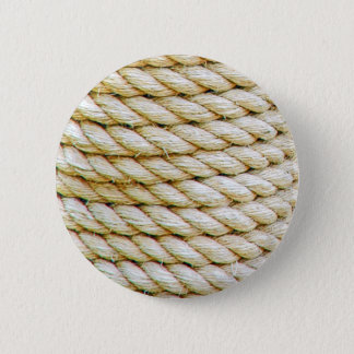 Wrapped rope 2 inch round button