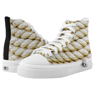 Wrapped rope high tops
