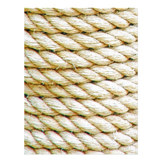 Wrapped rope letterhead