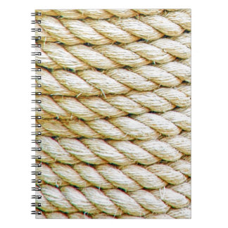 Wrapped rope notebook