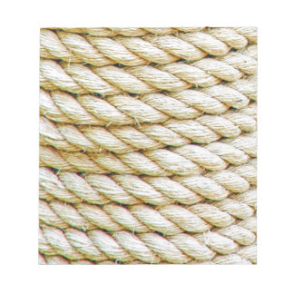 Wrapped rope notepad