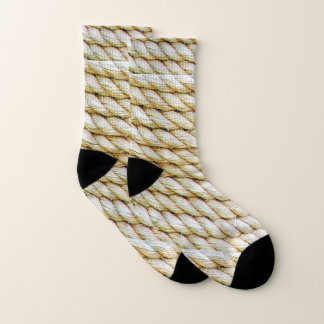 Wrapped rope socks