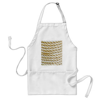 Wrapped rope standard apron