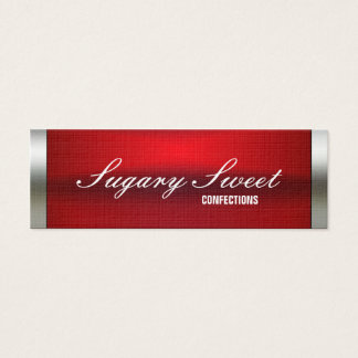 Wrapped Up Chocolate Bar Business Card