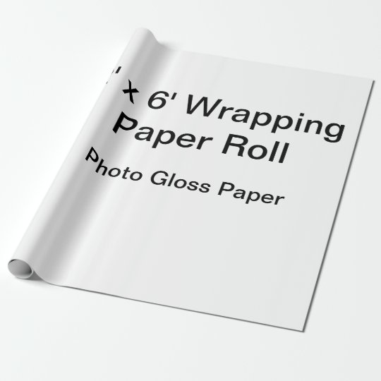 "Matte Wrapping Paper, 30"" x 6'"