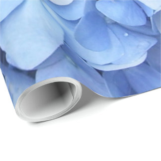 Wrapping Paper - Blue Hydrangea