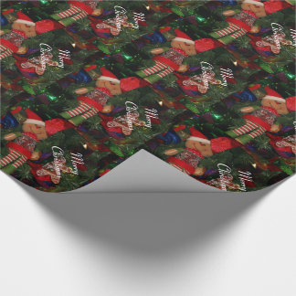 Wrapping Paper/Elf