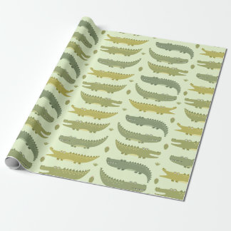 Wrapping Paper - Gator's Party