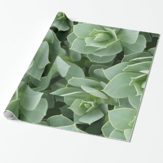 Wrapping Paper- Green Blooms Wrapping Paper