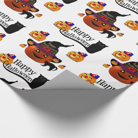 Wrapping paper Halloween