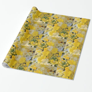 Wrapping Paper- Happy Yellow Blooms Wrapping Paper