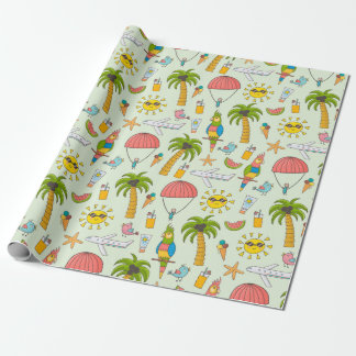 Wrapping Paper - Hey, Life is a Beach!