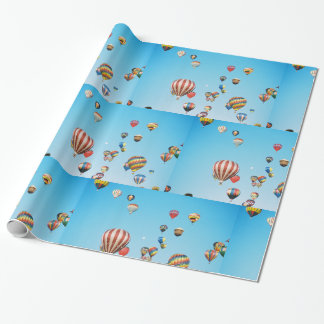 Wrapping Paper- Hot Air Balloons Wrapping Paper